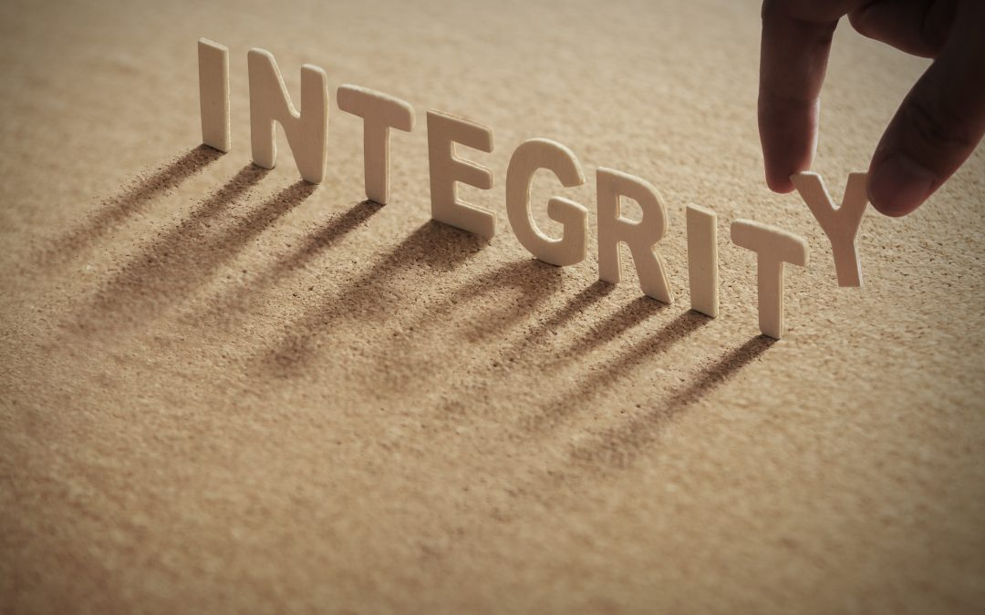Integrity – it has everything to do with sex